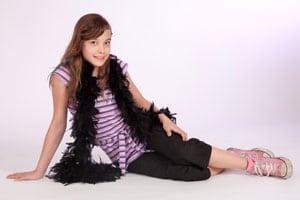 Einzelfoto Geburtstags-Shooting für Teenager und Kinder im Fotostudi Keepsmile, Castrop-Rauxel