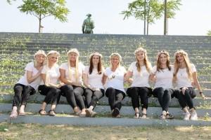 Gruppenbild JGA in Dortmund Outdoor Fotostudio Keepsmile