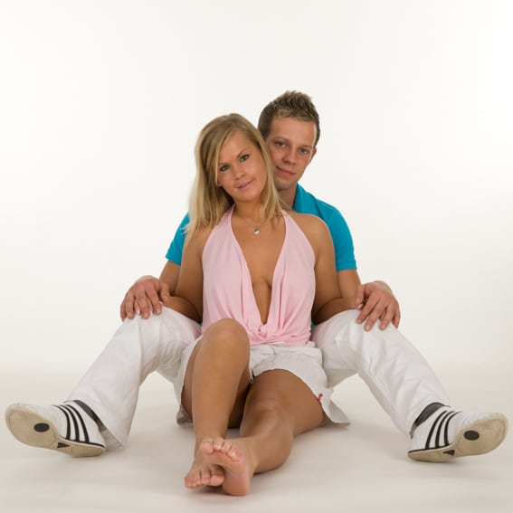 Partner-Footshooting im Fotostudio Keepsmile, Castrop-Rauxel