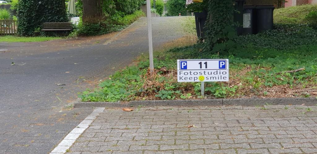 Parkplatz Nr 11 vom Fotostudio Keepsmile