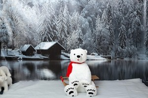 Hintergrund Winter-Fotoaktion 2015 Fotostudio Keepsmile, Castrop-Rauxel