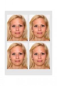 Biometische Passbilder kosten 12,-€ - Biometric passport photos cost 12,-€