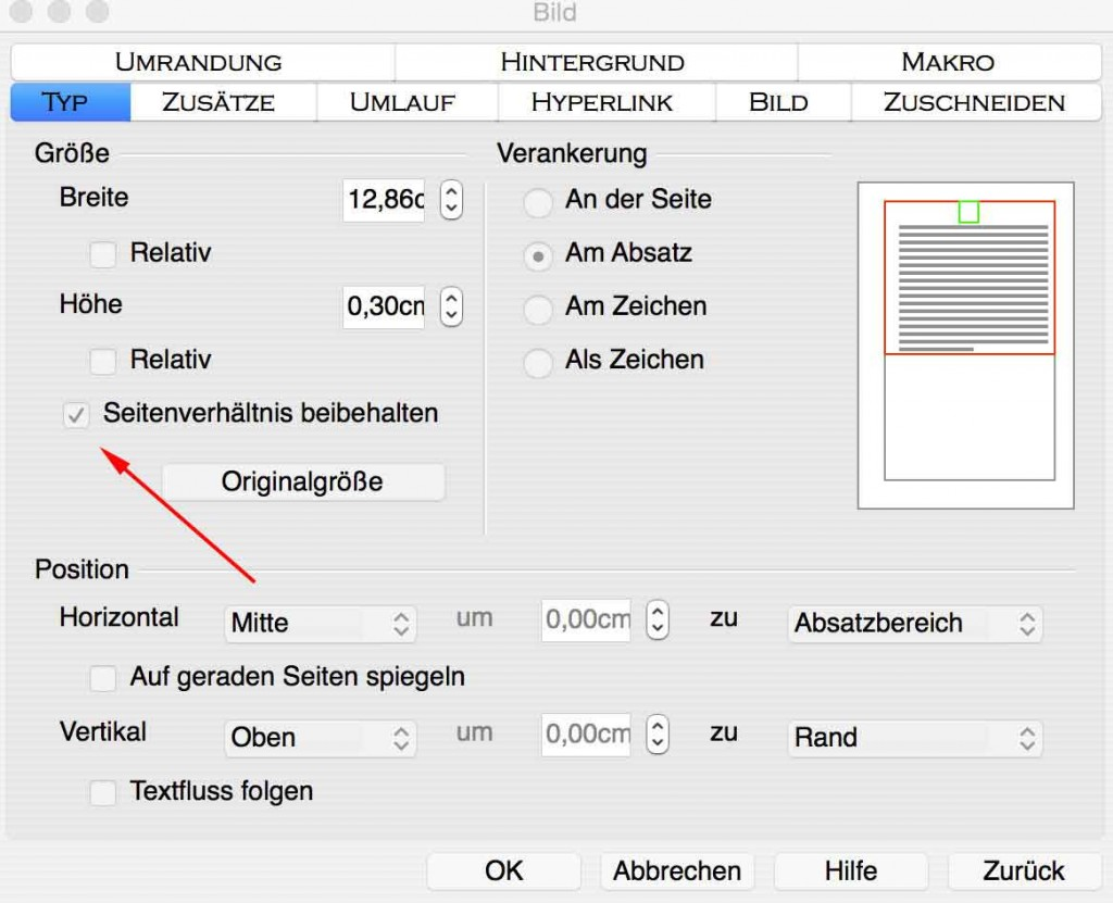 Tipps zum Zuschneiden von Bewerbungsbildern in der Textverarbeitung