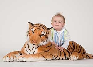 Kinderfoto im Fotostudio Keepsmiel, Castrop-Rauxel bei Dortmund
