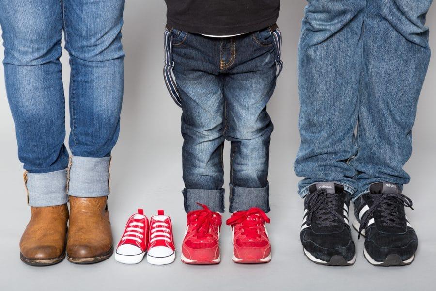 Familienfoto mal etwas anders im Fotostudio Keepsmile, Castrop-Rauxel