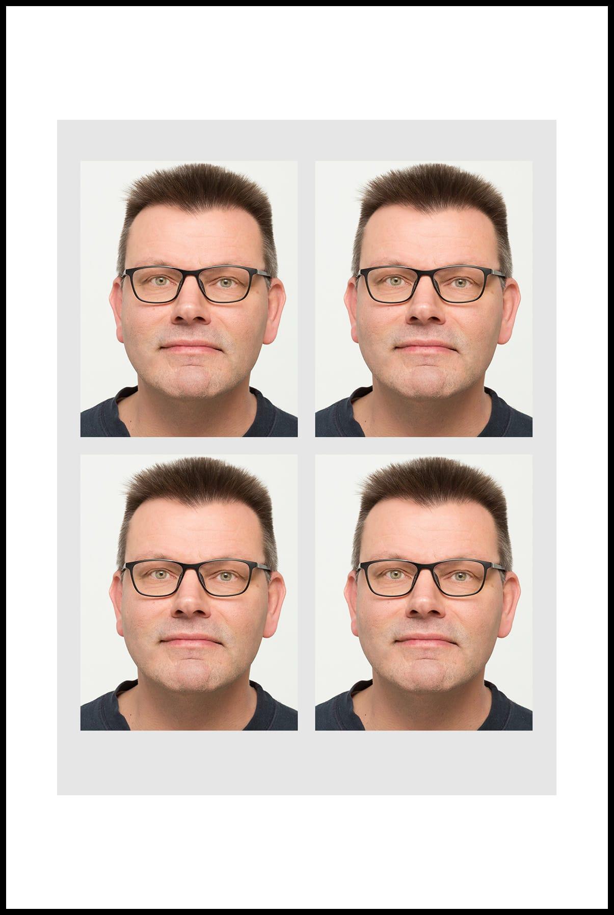 Biometrisches Passbild Für Ausweis Und Führerschein Fotostudio