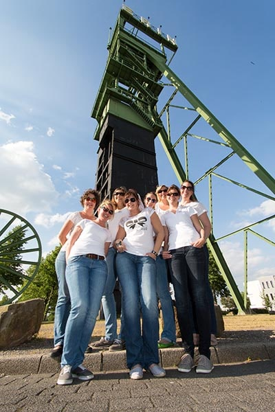 JGA Junggesellinnenabschied im Erinpark, Castrop-Rauxel fotografiert von Fotostudio Keepsmile