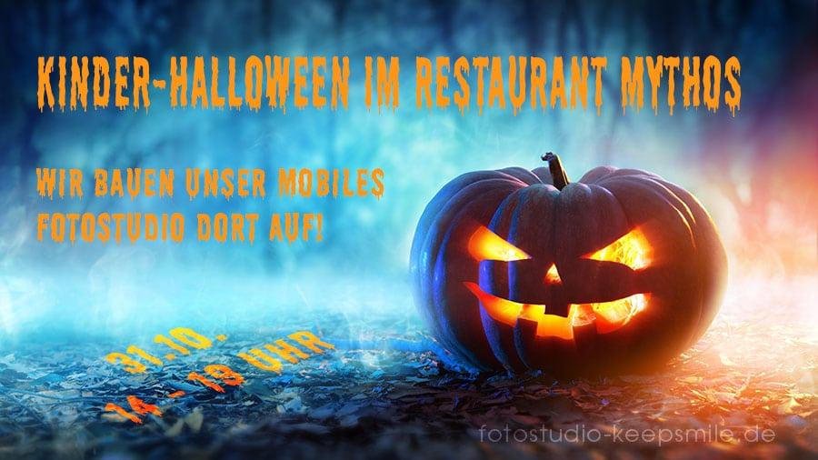 Fotoaktion Halloween im Restaurant Mythos