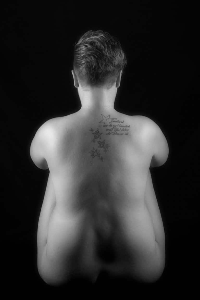 Rückentattoo Fotoaktion im Fotostudio Keepsmile, Castrop-Rauxel M0137