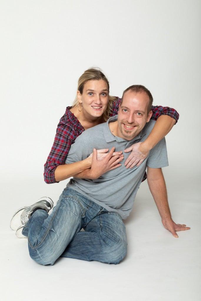 Partner-Fotoshooting / Paar-Fotoshooting im Fotostudio Keepsmile, Castrop-Rauxel