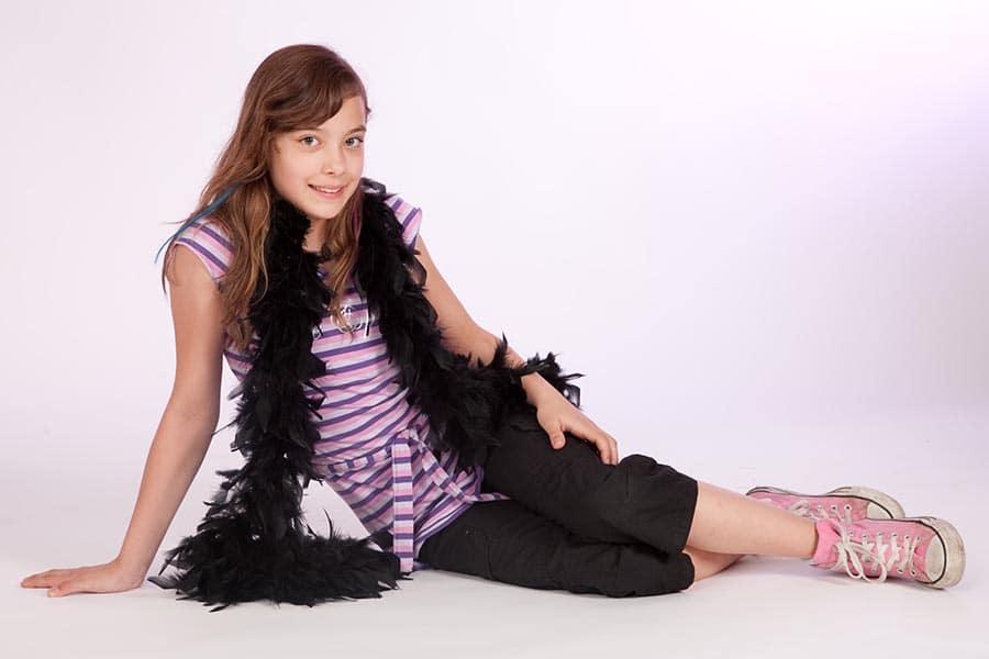Einzelbild Teenager Geburtstags-Fotoshooting im Fotostudio Keepsmile