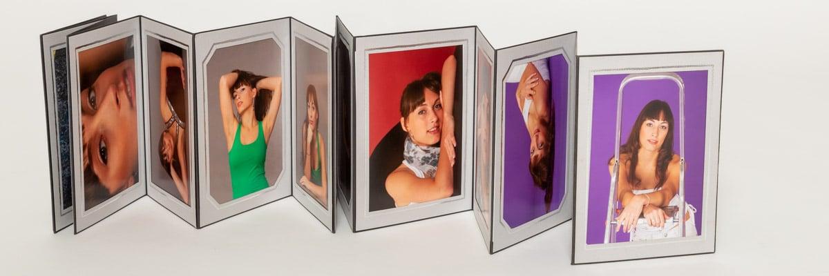 Endlos-Leporello mit Bildern vom Fotostudio-Keepsmile Castrop-Rauxel