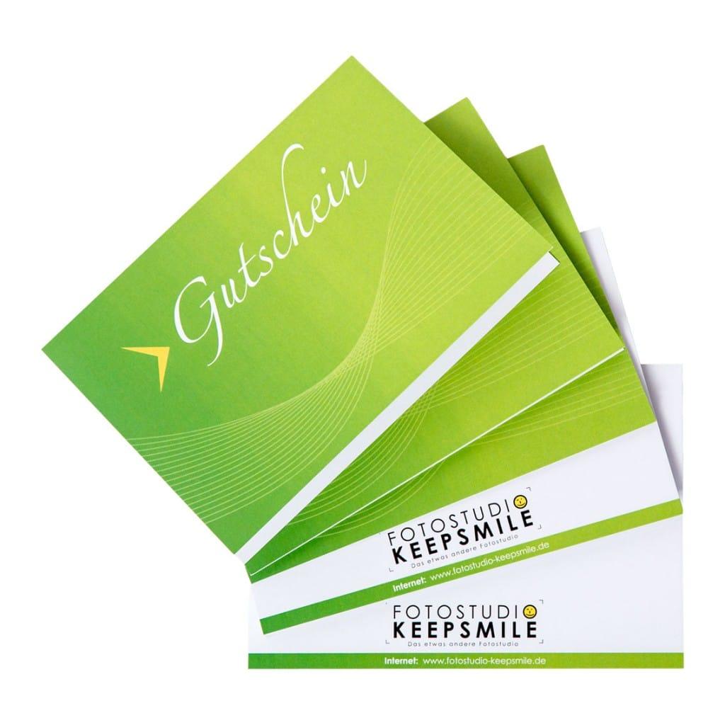 Geschenkgutschein über ein Fotoshooting mit CD oder Betrag