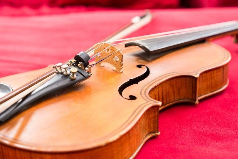 Bild einer Geige für die Musikschule Altes Rathaus, Castrop-Rauxel