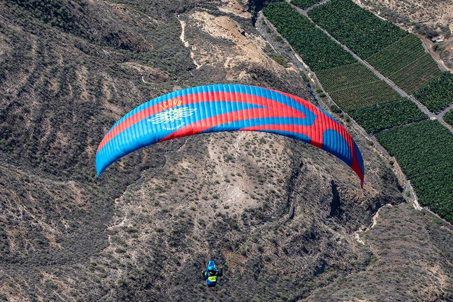 Paragliding Fotos für Sky-of-Tenerife, Teneriffa-Fotostudio Keepsmile