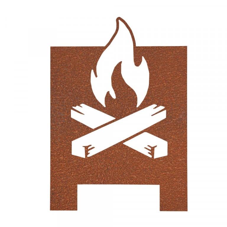 Produktfoto Feuerkorb Klostermann Stahldesign im Fotostudio Keepsmile, Castrop-Rauxel (Ruhrgebiet)