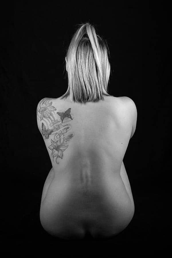 Rückentattoo Fotoaktion / Fotoprojekt im Fotostudio Keepsmile, Castrop-Rauxel M0156