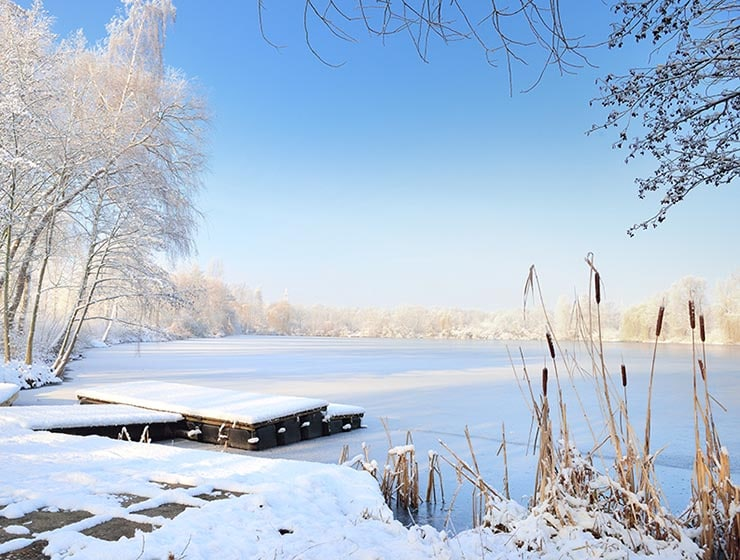 Hintergrund Winter-Fotoaktion im Fotostudio Keepsmile, Castrop-Rauxel