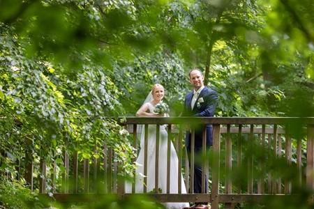 Hochzeitsfotos im Freien